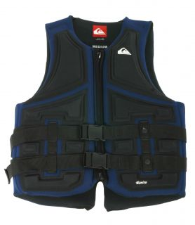 Quiksilver Mens Ignie Armour PFD in Navy WSK800