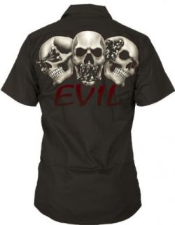 R.A.G. Originals   No Evil Mechanic Work Shirt in Black