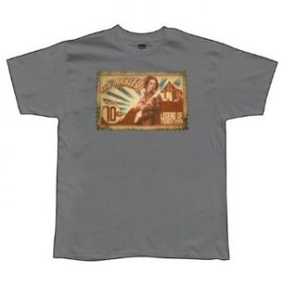 Bob Marley   Stamp Soft T Shirt Clothing