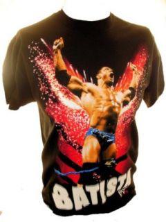 WWE (W.W.E.) Batista Mens T Shirt   The Animal Screaming