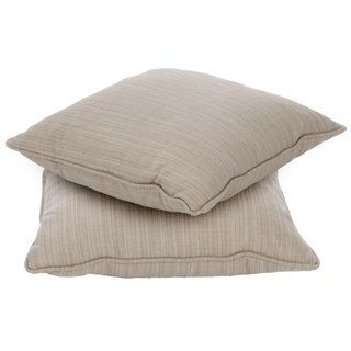 Clara 18 inch Outdoor Throw Pillows with Sunbrella Fabric (Set of 2
