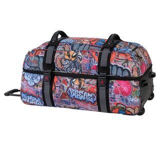 Athalon Graffiti 32 inch Double Decker Wheeled Duffel Bag