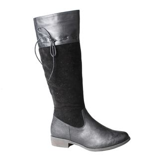 Refresh by Beston Womens Molly 02 Knee High Riding Boots