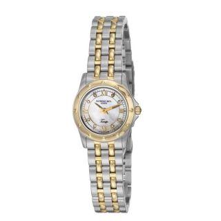 Raymond Weil Womens Tango Two tone Steel Quartz Diamond Watch