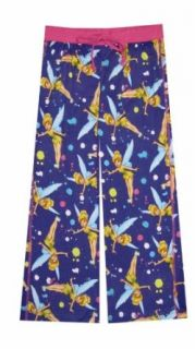 Disney Tinkerbell Art Class Splash Capri Lounge Pants for