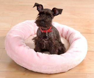 Faux Fur Snuggle 18 inch Pet Bed