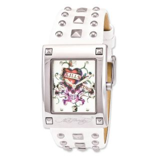 Ed Hardy Womens Luci Love Kills Watch