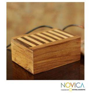 Set of 3 Sheesham Wood and Kadam Wood Piano Jewelry Boxes (India