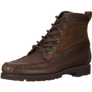 Sebago Mens Armstrong Ridge   Wide Leather Boots Shoes
