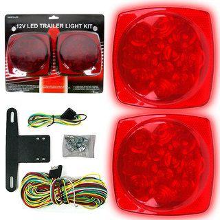 12 volt LED Trailer Tail Light Kit