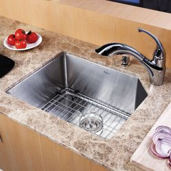 Kraus 23 inch Undermount Stainless Steel Kitchen Sink