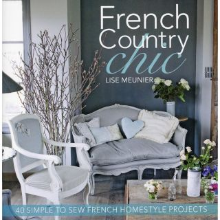 David & Charles Books French Country Chic Sewing/Embroidery Projects