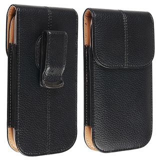 BasAcc Leather Case with Belt Clip for Samsung© Galaxy S III / S3
