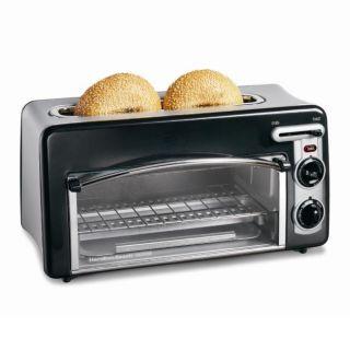 Hamilton Beach 22708 Toastation 2 slice Toaster/ Mini oven