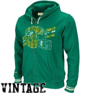 Green Bay Packers Kelly Green Mitchell & Ness Vintage