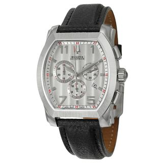 Bulova Accutron Mens Stainless Steel Stratford Chronograph Watch