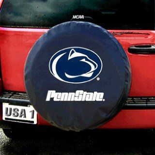 Penn State Nittany Lions NCAA Spare Tire Cover (Black) by