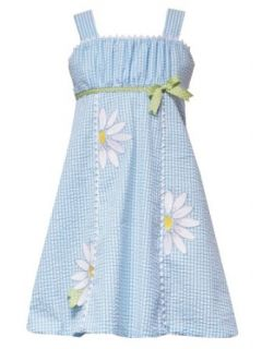 Rare Editions Little Girls 4 6X TURQUOISE BLUE WHITE