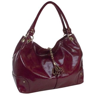 Amy Michelle Magnolia Red Diaper Bag