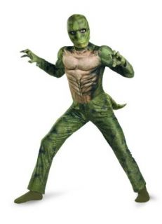 The Amazing Spider man Lizard Classic Muscle Costume