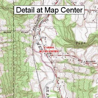 USGS Topographic Quadrangle Map   Colden, New York (Folded