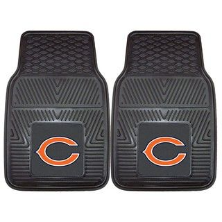 Fanmats Chicago Bears 2 piece Vinyl Car Mats