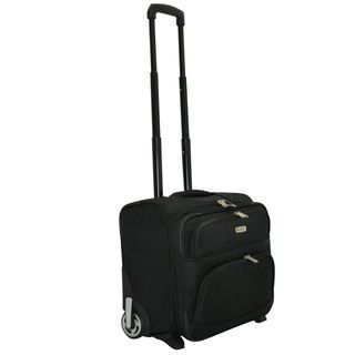 Dejuno Executive Rolling 17 inch Laptop Computer Bag Business Case
