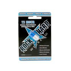 Rock Hard Weekend Male Enhancement Pill (Pack of 1)