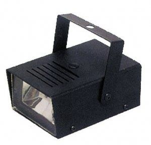 Mini Strobe Light with Sound (battery operated) Halloween