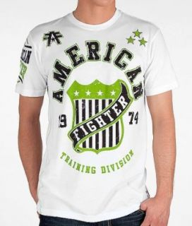 American Fighter Go The Distance T Shirt White Clothing
