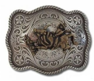 Western Rodeo Bull Rider Belt Buckle Clothing