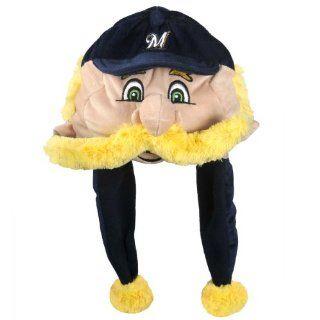 MLB Milwaukee Brewers Thematic Mascot Dangle Hat  Sausage