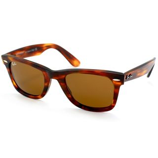 Ray Ban Unisex RB2140 Original Wayfarer Light Tortoise Sunglasses