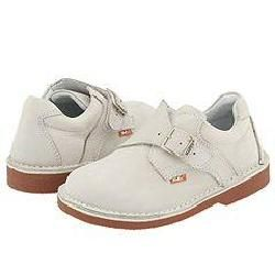 Kid Express Marcus (Infant/Toddler/Youth) White Buck Oxfords