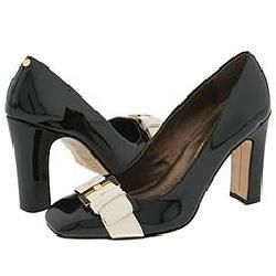 Ted Baker Shirley Le White / Black Pumps/Heels   S
