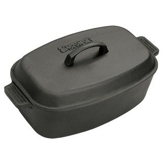 Bayou Classic 18 inch Cast Iron Roaster