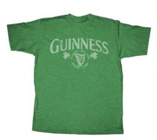 Guinness Officially Licensed T Shirt XX Large Green