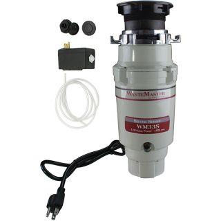 WasteMaster WM33S_62 1/3 HP Food Waste/ Garbage Disposal with Air