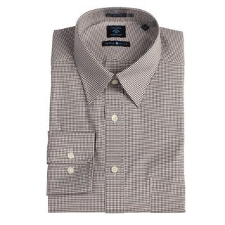 Joseph Abboud Mens Black/ White Dress Shirt
