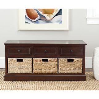 Cape Cod Dark Cherry 3 drawer Storage Unit