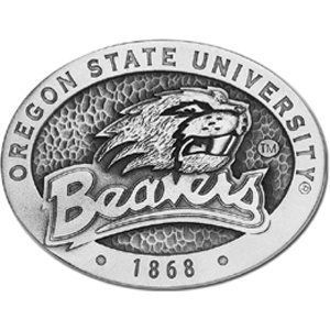 Oregon State Beavers Belt Buckle   NCAA College Athletics