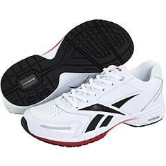 Reebok Speed Step II White/Black/Rbk Red/Silver Athletic