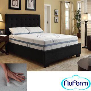 NuForm Luxury Gel Memory Foam 11 inch Dual Layer Full size Mattress