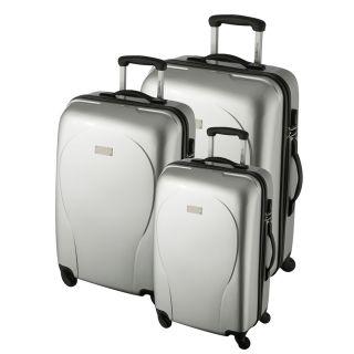 MURANO Set de 3 valises trolley 4 roues BJN Argent   Achat / Vente SET