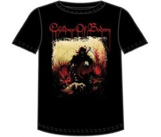 Children of Bodom   Hellhounds Tour T Shirt Clothing