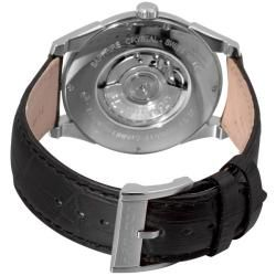 Hamilton Mens Jazzmaster Slim Black Strap Automatic Watch