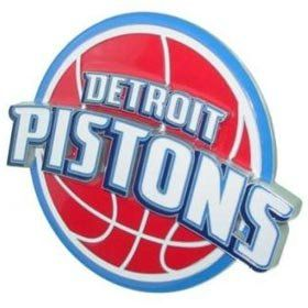 Detroit Pistons NBA Trailer Hitch Cover