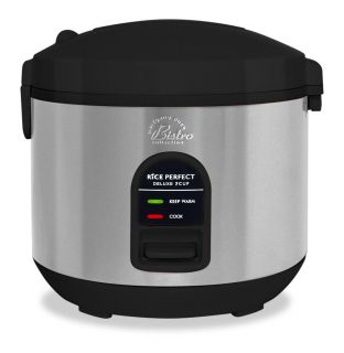 Wolfgang Puck BDRCB007 Black 7 cup Heavy duty Rice Cooker (Refurbished