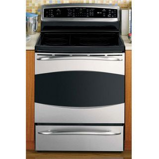 GE Profile Steel 30 inch Freestanding Electric Range/ Convection Oven