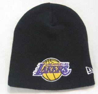 New Era NBA Beanie   Los Angeles Lakers   Black Sports